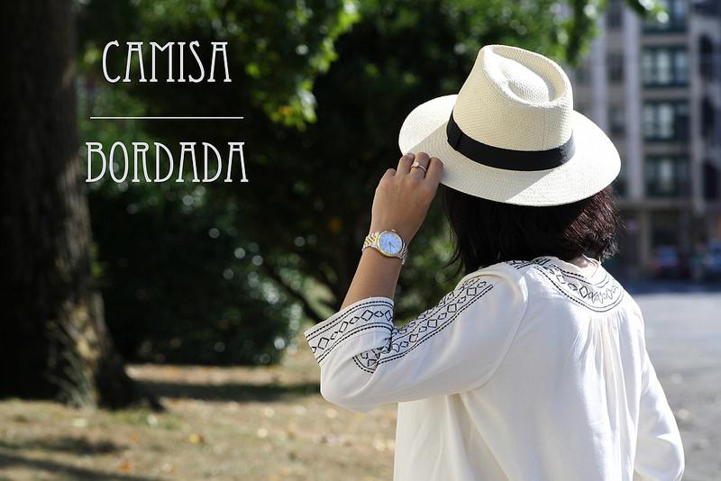 LOOK: Camisa Bordada