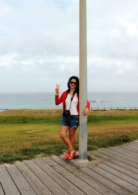 *Look en la Playa de Razo*