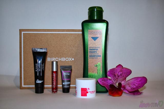 BirchBox de Octubre *Beauty Buzz*