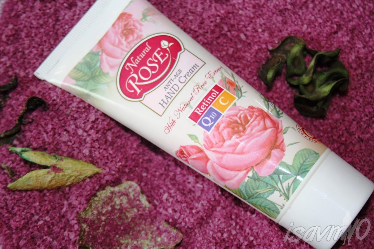 Crema de manos *Natural Rose*