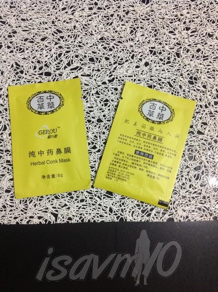 Herbal Conk Mask…Mascarilla Herbal Coreana