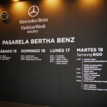 Mercedes-Benz Fashion Week MADRID, Febrero 2014
