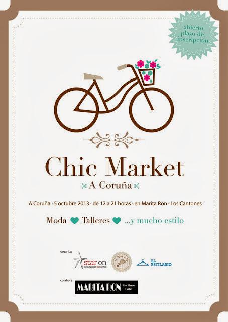 Chic Market en Marita Ron, A Coruña